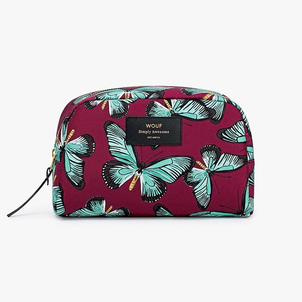 Wouf Butterfly Big Beauty Makeup Bag