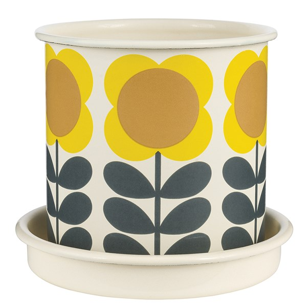 Stylish Garden Pots From Orla Kiely