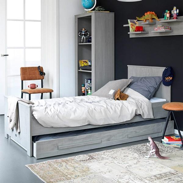 Zanzi Kids Single Bed with Optional Trundle Bed