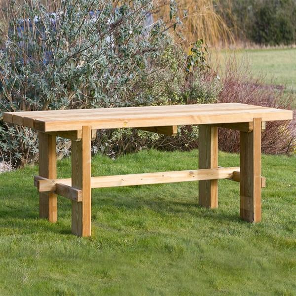 Zest 4 Leisure Rebecca Wooden Garden Table