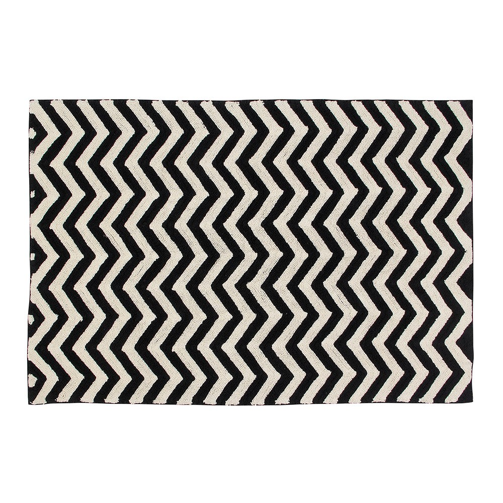 Lorena Cs Zig Zag Washable Kids Rug