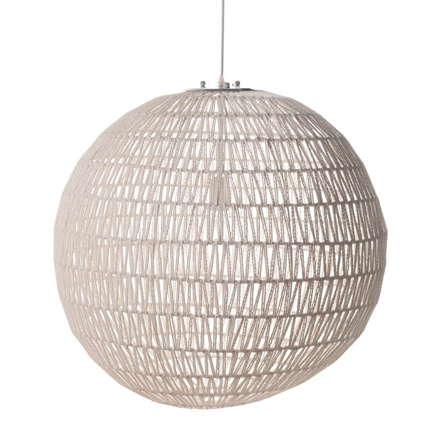 Zuiver Cable Ceiling Light in Twisted Paper