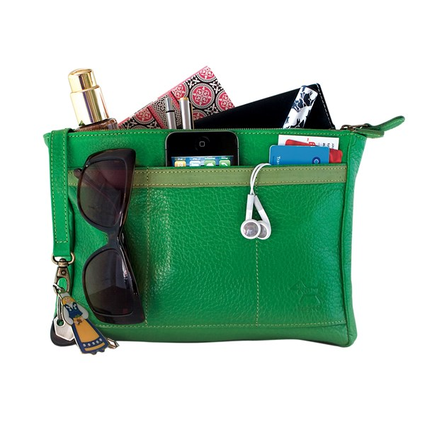 Handbag BagPod Organiser in Green