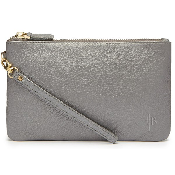 Mighty Purse in Grey Shimmer