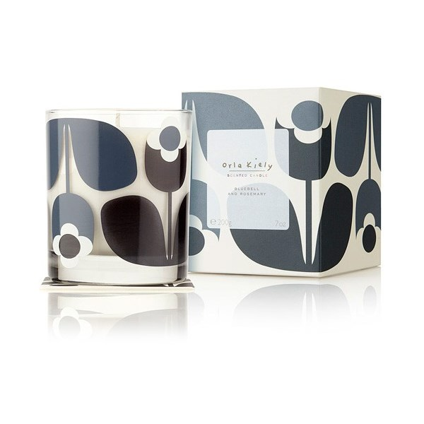 Orla Kiely Scented Candle in Blueberry & Rosemary