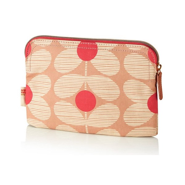 Orla Kiely Cosmetic Bag in Pink