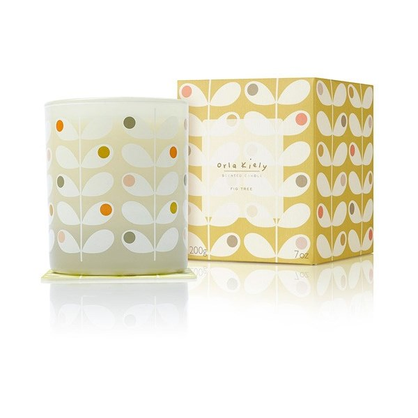 Orla Kiely Scented Candle in Fig Tree with Gift Box