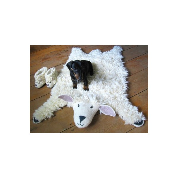 Kids Rug in Sheep Design