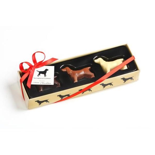 Spaniel Shaped Chocolates