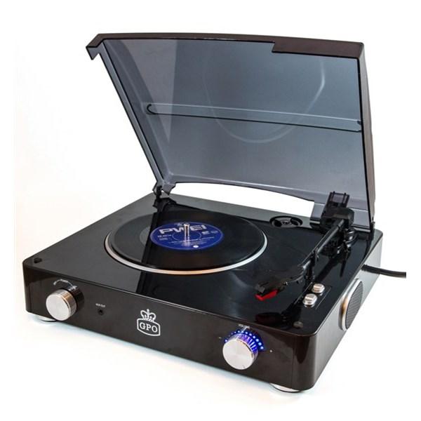 Stylo Record Player in Black