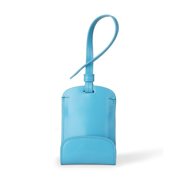Sulan Fashion Bag Tag Smartphone Charger in Blue