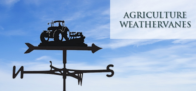 Agriculture & Tractor weathervanes