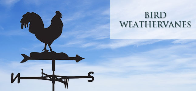 Bird weathervanes