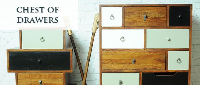 Chest of drawers banner