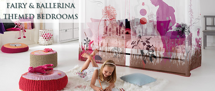 Fairy & Ballerina themed bedrooms