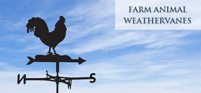 Farmyard weathervanes