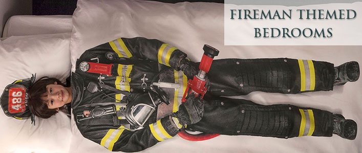 Fireman themed bedrooms