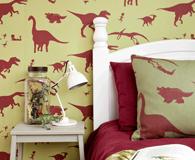 Dinosaur themed bedrooms