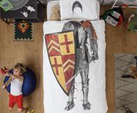 Knight themed bedroom