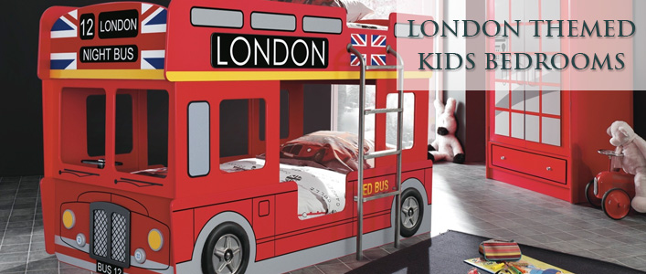 London themed bedrooms