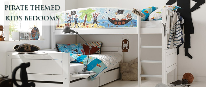 Pirate themed bedrooms