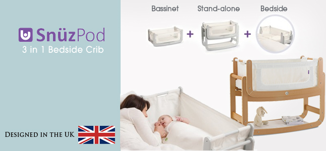 snuzpod moses basket and crib