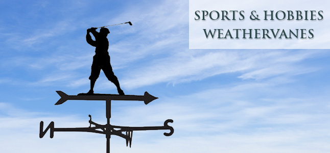 Sports & Hobby weathervanes