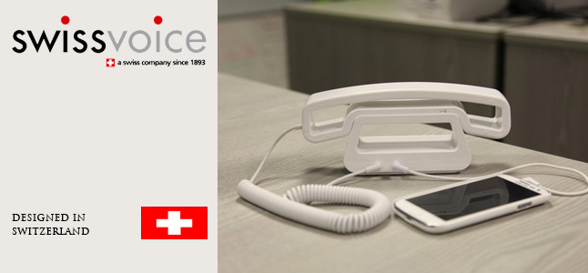 Swiss voice retro phones