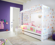 Princess themed bedroom