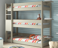 triple beds for kids