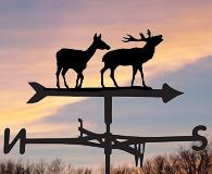 wildlife weathervanes