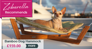 Pet bed hammock by Pet Lounge Studios