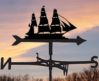 boat and car weathervanes
