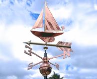 copper 3d weathervanes