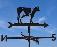 farm animal weathervaes