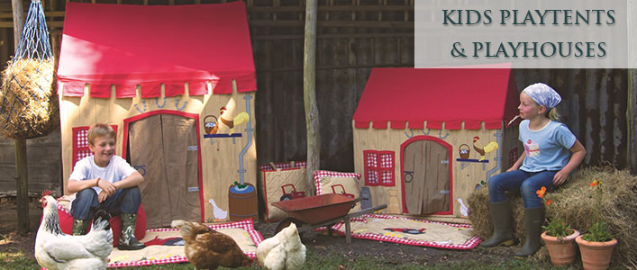 childrens playtents & playhouses