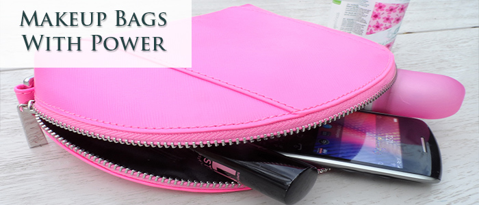 Makeup Bags With Power