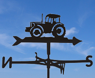 tractors and agriculture weathervanes