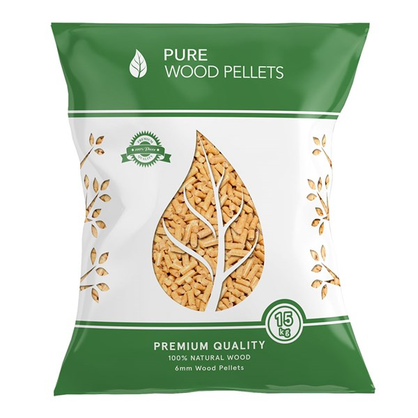 Sustainably Sourced Pine Wood Pizza Oven Pellets