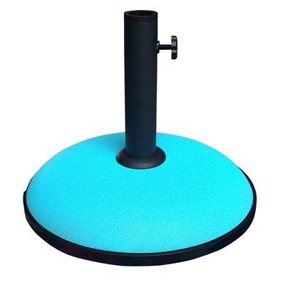 Image of 15KG CONCRETE PARASOL BASE in Aqua Blue