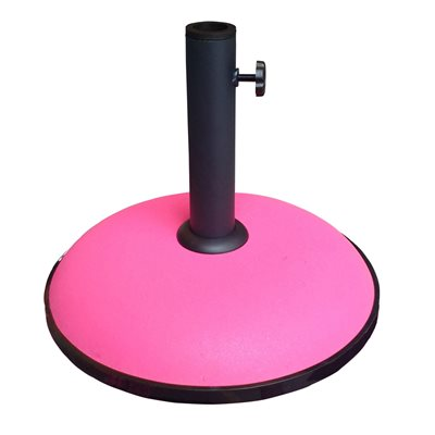 Image of 15KG CONCRETE PARASOL BASE in Fuchsia Pink