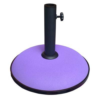 Image of 15KG CONCRETE PARASOL BASE in Purple