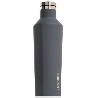 CORKCICLE CANTEEN TRIPLE INSULATED VACUUM FLASK in Graphite