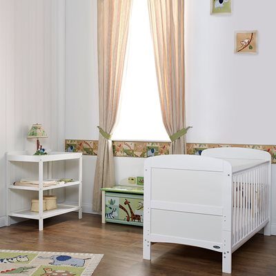 Obaby Grace Cot Bed 2 Piece Nursery Furniture Set