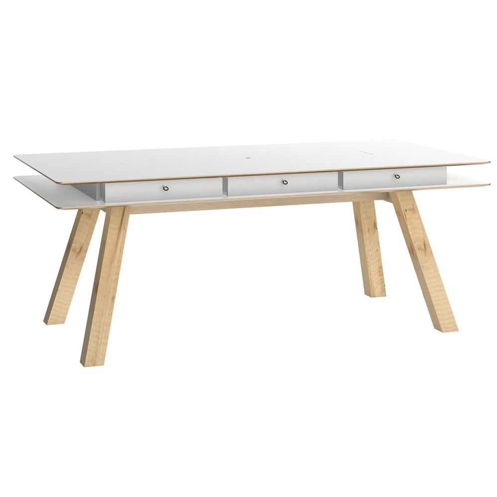 Vox 4you Dining Table With Hidden Container In White Vox Cuckooland