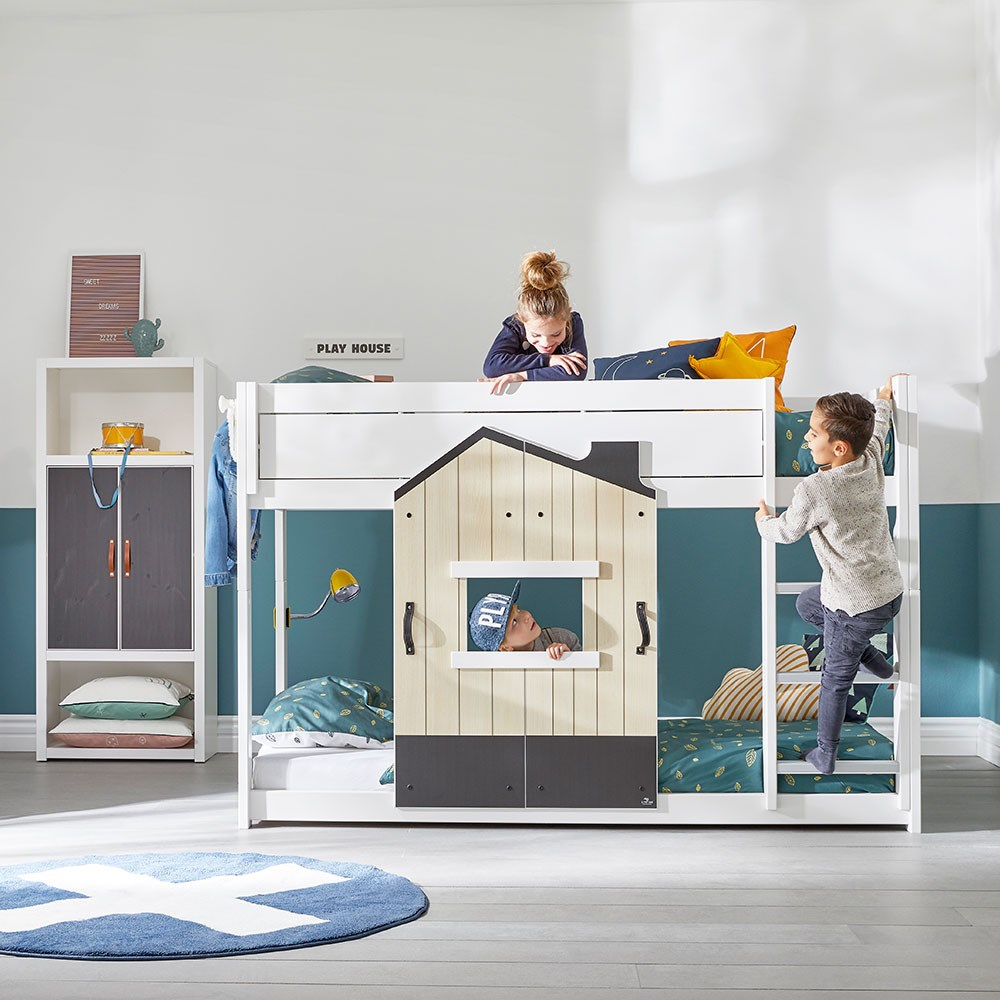 Lifetime Limited Edition Playhouse Low Bunk Bed Lifetime