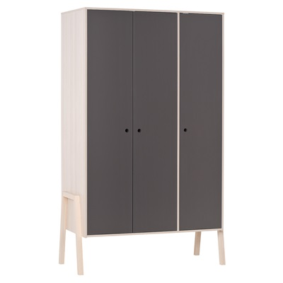 SPOT 3 DOOR WARDROBE in Acacia