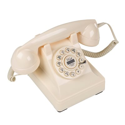 302 CREAM RETRO PHONE
