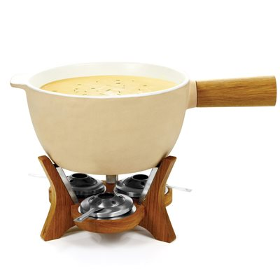 CHEESE FONDUE Extra Large Party Fondue Set