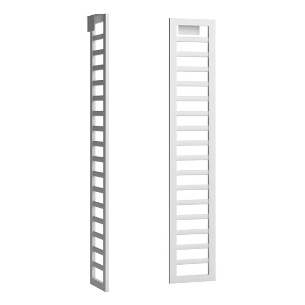 Unique Side Ladder Storage Solution for Canopy Bed